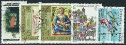 Austria 1987 Usato - Mi.1873/7  Yv.1702/6 - 1945-.... 2a Repubblica