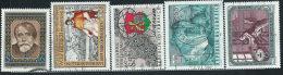 Austria 1987 Usato - Mi.1883/5;1887/8  Yv.1712/4;1716/7 - 1945-.... 2a Repubblica