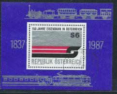 Austria 1987 Usato - Mi.BL.9  Yv.BF.14 - Blocchi & Fogli