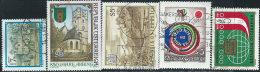 Austria 1987 Usato - Mi.1894/8  Yv.1723/7 - 1945-.... 2a Repubblica