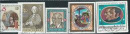 Austria 1987 Usato - Mi.1904/8  Yv.1733/7 - 1945-.... 2a Repubblica