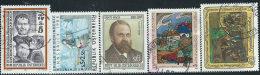 Austria 1988 Usato - Mi.1909/13  Yv.1738/41;1743 - 1945-.... 2a Repubblica