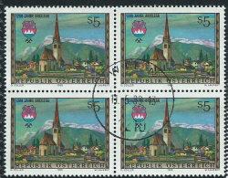 Austria 1988 Usato - Mi.1929  Yv.1758  Bloc 4x - 1945-.... 2a Repubblica
