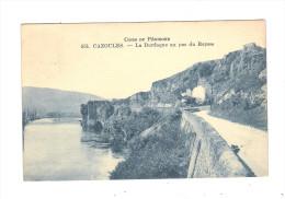 24 - CAZOULES - N°351 - LA DORDOGNE AU PAS DU RAYSSE - Coins Du Périgord / Train Fumée Locomotive - Andere Gemeenten
