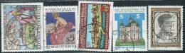 Austria 1989 Usato - Mi.1944;1948/0;1952  Yv.1773/4;1779/0;1782 - 1945-.... 2a Repubblica