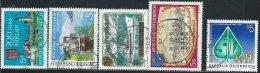 Austria 1989 Usato - Mi.1955;1958;1960;1962;1965  Yv.1785/6;1789;1791;1794 - 1945-.... 2a Repubblica