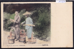 Canton Native Water Carrier ; Postage Hong Kong 1921 (12´624) - Chine