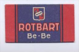 L31 - LAMETTA DA BARBA - ROTBART BE-BE - Lames De Rasoir