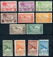 Andorra, 1932, Paisajes, No Expendidos, Complete Set, ** MNH - Nuevos