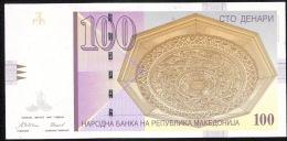 MACEDOINE MACEDONIA P16 100 DENARI 1997 *VERY DIFFICULT DATE* - Macedonia