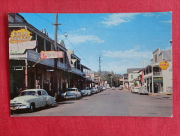 Jamestown Also Called Jimtown   Main Street Classic Auto  Not Mailed  Ref 1058 - Unclassified