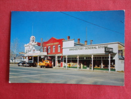 Bridgeport Ca   General Store Classic Auto  Not Mailed  Ref 1058 - Unclassified