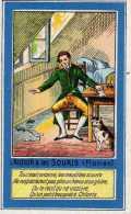 Fable De Florian - L'auteur Et Les Souris - Librairie D'éducation Nationale, Paris - Cromos