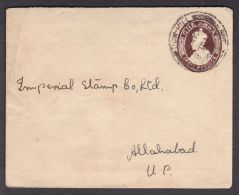 Letter DOW HILL ALLAHABAT INDIA 1929 (553) - Briefe