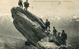 CPA 05 DANS LES ALPES UNE POINTE A 3049 M L AIGUILLE DORAN - France