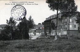 (111)  CPA  Sailly Laurette  Moulins De M  Warnet  Et Bureau De Poste (bon Etat) - France