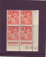N° 655 - 3F IRIS - B De A+B - Tirage Du 26.10.44 Au 13.11.44 - 30.10.1944 - - 1940-1949