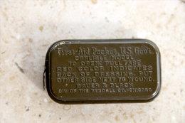 Pansement US Boite Métal - Army & War