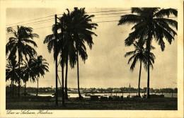 TANZANIE - DAR EL SALAAM HARBOUR - CARTE DATEE DE 1933. - Tanzanie