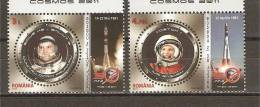 Romania 2011 / Cosmos (Gagarin, Prunariu) / 2 Val. - Nuevos