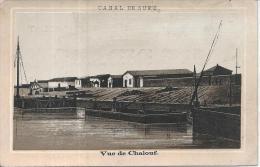 CHROMO - AU CADRAN BLEU - Mon Didard - Canal De Suez - Vue De Chalouf - Chromos