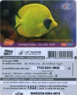 Prepaidcard Thailand - Cat Phone Net - Fisch,fish - Fische
