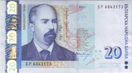 Bulgaria 20 Leva 2007 - Bulgarie