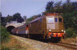 FS Treni ALn 424.006 Altare Savona Tpaívo Railroad Trein Railways Zug Treno Diretto Milano Alessansria Savona - Trains