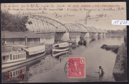 Annam - Hué - Pont Than-Thaï - 1906, Timbre Indochine Française (12´633) - Viêt-Nam