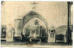 70 - Montjustin - L' Intérieur De L ' église  N° 2 - France