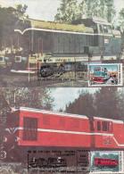Locomotives Built In Romania - Tarjetas – Máximo
