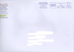 EMA HU 174506 + Flamme Les Thermes De Rennes-les-Bains - 11 - Sur Env Des Thermes - Poststempel (Briefe)