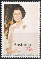 Australia 1982 27c Queen's Birthday MNH - 1980-89 Elizabeth II