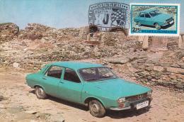 The First Car Dacia 1300 - Maximum Cards & Covers
