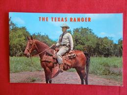 Mounted Texas Ranger  Horse --Not Mailed   Ref 1059 - Vereinigte Staaten