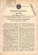 Original Patentschrift - E. Dietrich In Nobitz B. Altenburg , 1906 , Federnder Radreifen , Reifen , Rad !!! - Historical Documents