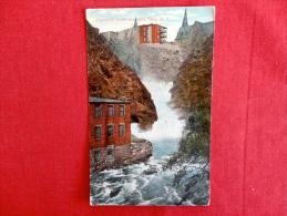 Postenkill Creek & Falls Troy NY 1909 Cancel     Ref 1059 - NY - New York