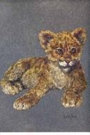 LEOPARD CUB - DUFEX CARD M128 - Tigers