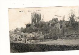 Saive: Ruines Du Château  écrite: Wandre 20/05/1922 - België