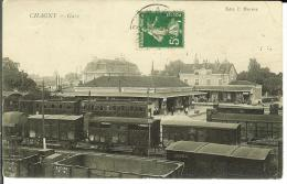 CPA  CHAGNY, Gare  8461 - Chagny