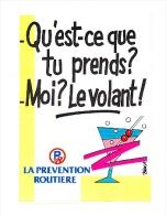 Autocollant Sticker / Prévention Routière - Alcool Au Volant / Circulation  // ADH 21/3 - Autocollants