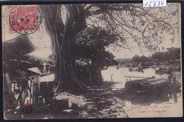 Annam - Hué - Canal De Dong-Ba ; Barques, Maisons Sur Les Berges - 1906 - Timbre Indochine Française (12´674) - Viêt-Nam