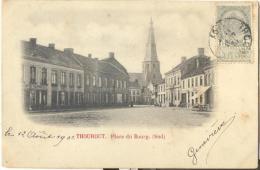 Op991: THOUROUT Place Du Bourg (Sud)  Timbre Au Dos 1901eur Albert Sugg - Torhout