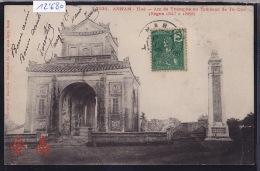 Annam - Hué - Arc De Triomphe Au Tombeau De Tu-Duc ; Déchirure Et Pli à Droite En Bas (scan) (12´680) - Viêt-Nam