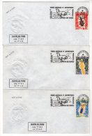 LETTRE - TAAF - N° 49/51   - 08/04/1975 - INSECTES - Storia Postale