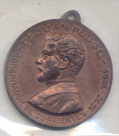JUAN PUJOL - GOBERNADOR DE LA PROVINCIA DE CORRIENTES 1852-1859 CENTENARIO DE SU NATALICIO HOMENAJE DEL CENTRO CORRENTIN - Professionals / Firms