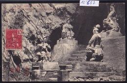 Annam - Tourane - Quatre Génies Défendant  La Grotte De Marbre  ; Timbre Indochine Française 1907 (12´687) - Viêt-Nam