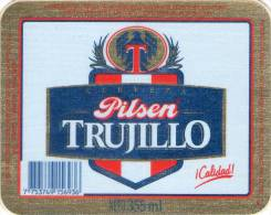 Lote EP3, Peru, Beer Label, Pilsen Trujillo, Codigo De Barras, Etikett, Etiqueta De Cerveza - Bière
