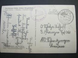 1941, VACH über Nürnberg, Karte