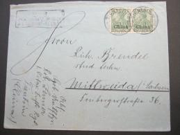 1903, Soldatenbrief Aus TIENTSIN - Offices: China